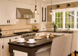 pottery barn knock off kitchen traditional with breakfast bar