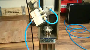 testing the pneumatic system diy injection molding machine youtube