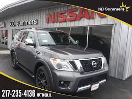 nissan armada 2017 roof rack new 2017 nissan armada platinum 4d sport utility in mattoon