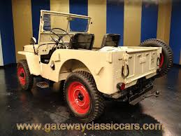 willys jeep truck for sale 1946 willys cj2a gateway classic cars 4592