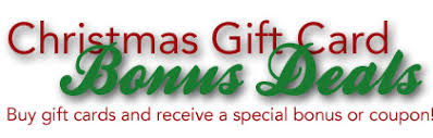 gift cards deals christmas gift card deals