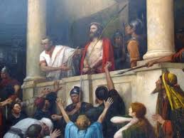 imagenes de jesus ante pilato jesus ante pilatos