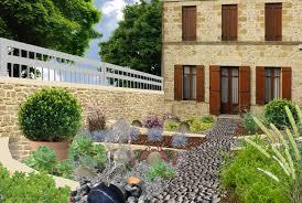 modele de jardin moderne jardin minéral créer un jardin de gravier