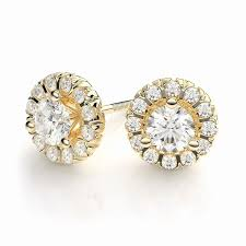 gold earring studs new zales diamond earrings studs jewellry s website