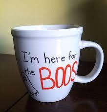 ghost pun coffee mugs halloween mug