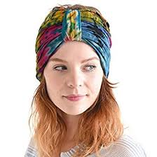 hippie flower headbands casualbox tie dye headband hippie bandana wrap