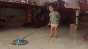 a little baby seav er how to clean the house youtube