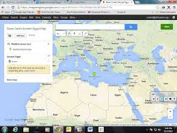 ancient egypt google map project youtube