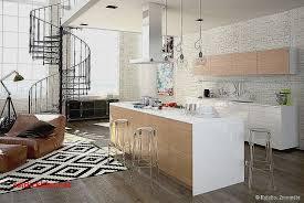 deco murale pour cuisine decoration salon avec cuisine ouverte pour idees de deco