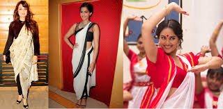 How To Draping How To Drape Saree In Five Stylish Ways Let Us Publish