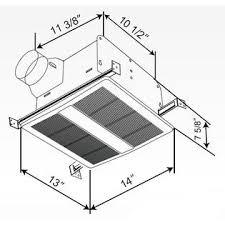 kaze appliance se110l2 ultra quiet bathroom exhaust ventilation