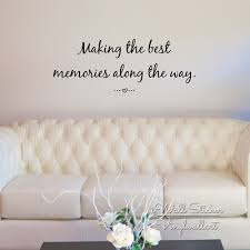 online buy wholesale making memories stickers from china making making the best memories quote wall sticker inspirational quote wall decal love quotes easy wall art
