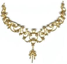 gold with diamond necklace images Crafty inspiration gold and diamond necklace in sitapura indl area jpg
