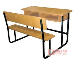 Modern School Desks Wood School Desk With Bench Primary School Furniture Price
