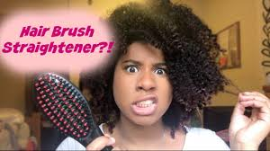 how to get 3c hair does it work goodzy hair straightening brush on 3c 4a 4b