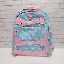 Pottery Barn Mackenzie Backpack Backpacks In Brand Pottery Barn Style Backpack Color Pink Ebay