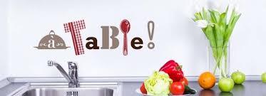 stickers pour cuisine stickers cuisine acheter stickers muraux pour cuisine sur