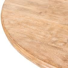 White Wash Wood Magnolia Dining Table 60