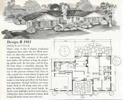 vintage house plans mid century homes u shaped houses vintage
