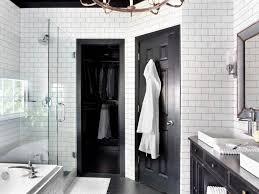 Hgtv Bathroom Makeover Timeless Black And White Master Bathroom Makeover Master
