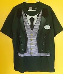 Haunted Mansion Costume New Disney Haunted Mansion Butler Cast Member Ghost Host T Shirt