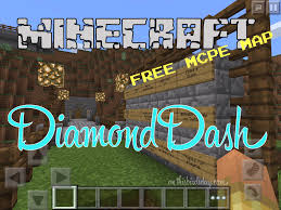 diamond minecraft mcpe map download diamond dash this bird u0027s day