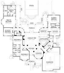 136 1037 floor plan main level house pinterest traditional