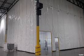 The Warehouse Curtain Sale Insulwall Insulated Warehouse Divider Curtain Wall Randall