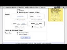 worksheet works youtube