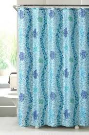 Seashell Fabric Shower Curtain Gorgeous Seashell Curtains Bathroom Inspiration With Seashell