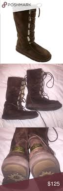 lyst ugg uptown emalie leather wedge boots in black uptown lace up boots