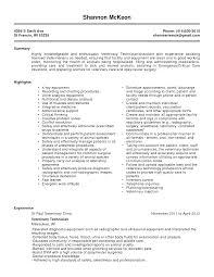 Ct Tech Resume Examples by Vet Resume Resume Cv Cover Letter