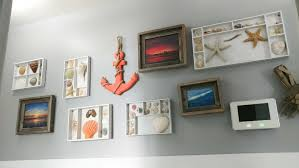 how to do a gallery wall diy coastal gallery wall easy and low cost upcycle our house now