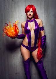 Mileena Halloween Costume Cosplay Starfire Adapt Mileena Costume Ideas