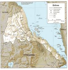 Map Of The Red Sea Red Sea Highlands Ancient Egypt Map