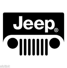 jeep cj grill logo jeep wrangler cj tj jk windshield grill emblem logo decal sticker ebay