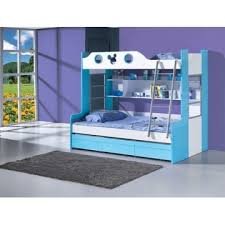 Bunk Bed Hong Kong B61 China Blue Color Children Bunk Bed Manufacturer Supplier