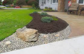 rock and mulch landscape ideas va beach rock and stone photos
