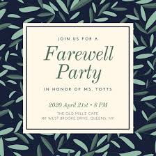 farewell party invitation party invitations stunning farewell party invitation ideas
