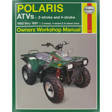 haynes polaris repair manual 2302 atv u0026 utv dennis kirk inc
