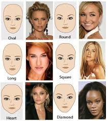 hair styles for head shapes different face shapes need different kinds of makeup hair styl