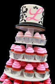 sweet 16 cakes sweet 16 ombre cupcake stand