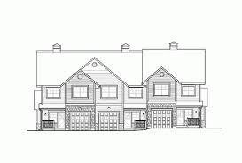 eplans craftsman house plan inviting craftsman triplex 4535