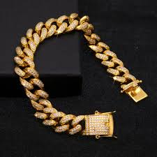 cuban link bracelet images 12mm iced out cuban link cz diamond bracelet capital bling jpg