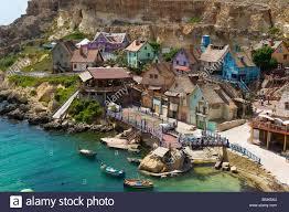 malta popeye village location scenery background film movie spare