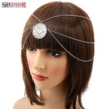 bohemian hair accessories bohemian hair accessories for women vintage silver plated hollow