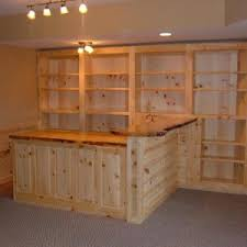 decor organize your basement bar ideas with comfortable furniture