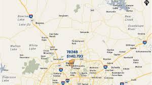 Zip Code Map Kansas City by San Antonio Area U0027s Wealthiest Zip Codes By Average Household