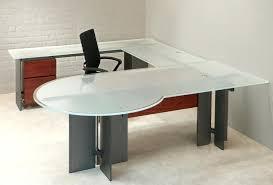 Modern Glass Executive Desk Modern Glass Desk Office Terrific Office Furniture Glass Desk