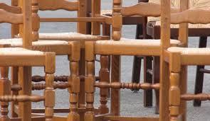 une chaise rénover une chaise en bois